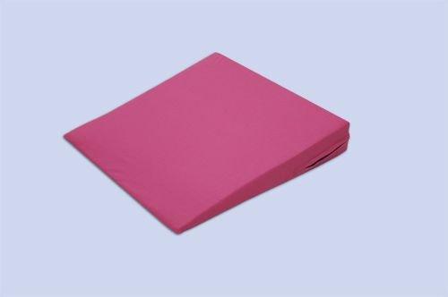 Theraline Das Sitzkeilkissen inkl. Bezug ca. 38 cm x 38 cm x 7/1 cm, Motiv 17 'Pink'