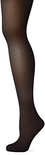Fiore Damen Shapestrumpfhose FIT-CONTROL 40 den/BODYCARE Strumpfhose, Schwarz (Black 001), Large (Herstellergröße:4) -