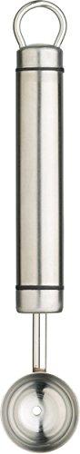 Kitchen Craft Professional Melonenausstecher Edelstahl ovaler Griff 20 mm