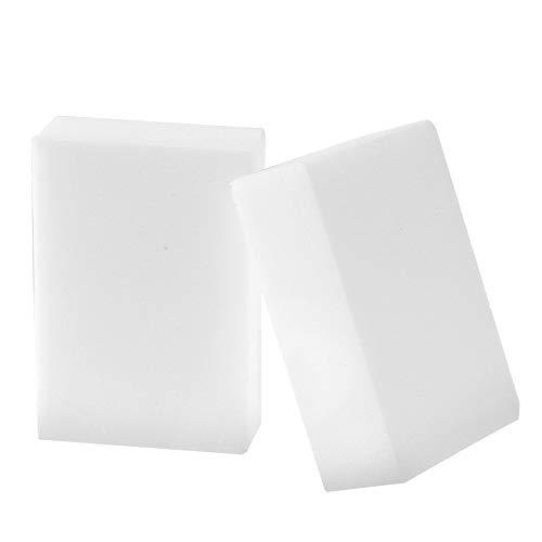 TianranRT 25 Stück Weiß Magic Schwamm Radiergummi Reinigung Melamin Schaum Reiniger Küche Pad