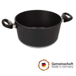 💝 Lieblings - Kochtopf 28cm, Inhalt 8.6 Liter, Aluminium Guss, Antihaft Beschichtung, Induktion, handgegossen in Deutschland