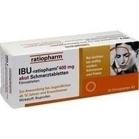 Ibu-ratiopharm 400 mg akut Tabletten, 50 St.