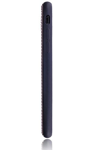 Burkley Apple iPhone 8 / iPhone 7 Leder Hülle | Handyhülle | Schutzhülle | Ledertasche | Handytasche | Tasche | Cover | Case | Bumper | Backcover | bruchfester Schale (Cognac Braun) Cognac Braun