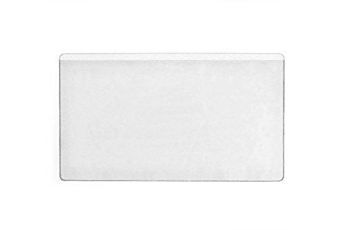 Durable 831919 Selbstklebetasche Pocketifix, 101 x 61 mm (Innen) Packung à 100 Stück transparent 101 Tasche