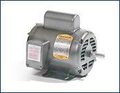 Baldor L1310M General Purpose AC Motor, Single Phase, 56H Frame,