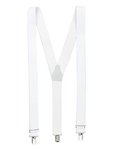 Shenky - Tirantes forma Y 3 clips - Blanco