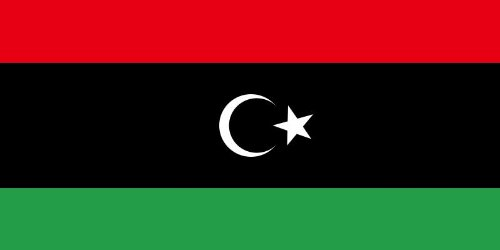 3' Rebel Flag (Libya National Flag 5ft x 3ft New rebel by Klicnow)