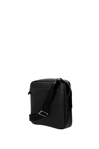 selezione migliore 20104 35343 Prada borsa uomo a tracolla borsello in pelle toro nero ...