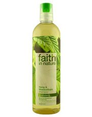 Faith in Nature Hemp & Meadowfoam Shampoo 400ml x 1