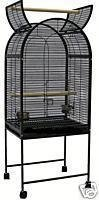 Black Stamford 1 Cockatoo & Small Parrot Pet Bird Cage