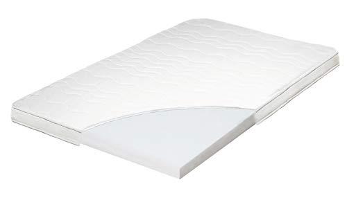 ARBD Topper, Matratzenauflage, Kaltschaum, 7cm - XL10cm - XL Wave 10cm - XXL Rave 12cm, alle Größen - Schlafen wie auf Wolken H2+H3 (H3 XL - 10cm,180x200)