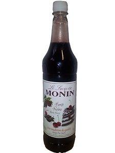 Preisvergleich Produktbild Monin Black Forest Syrup 1 ltr