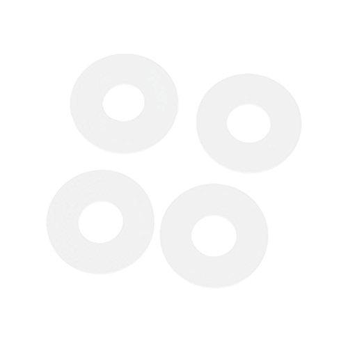 Sourcingmap - Aeroplano del rc plástico blanco arandela espaciadora 12 mm x...
