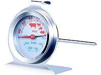 Rosenstein & Söhne 2in1 XL Braten- und Ofen-Thermometer für Gar- & Backofentemperatur - 5