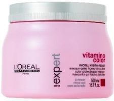 L'Oreal Professional Vitamino Color Gel Maske, 1er Pack (1 x 500 ml) (Loreal Professional Care Color)