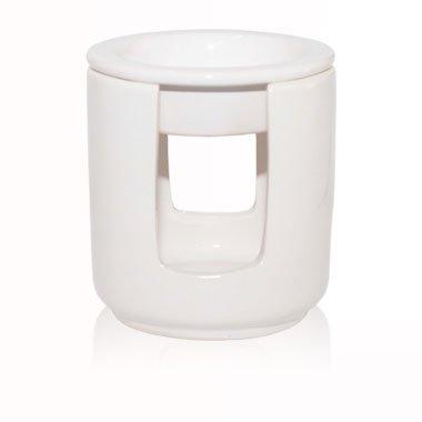 Frau Dufte | Schick & Schön Duftlampe - Aromalampe für Duftmelts Dufte Momente - weiß -