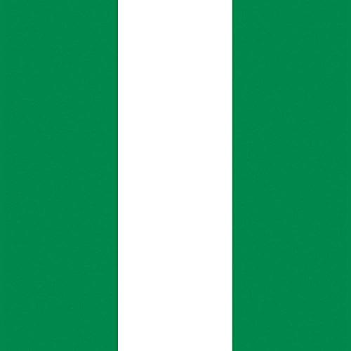Apple iPhone 5s Housse Étui Protection Coque Nigéria Drapeau Ballon de football Étui en cuir marron