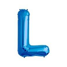 Folienballon Buchstabe Lufterfüllung (L) ()