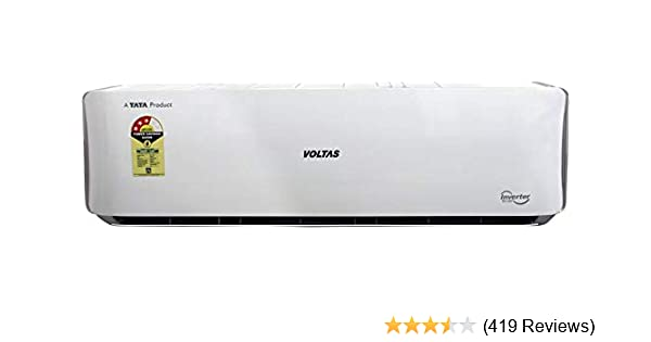Voltas 1 5 Ton 3 Star Inverter Split AC (Copper, 183V DZU/183 VDZU2, White)