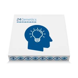 24Genetics: Test de ADN Talento - Prueba genética de Talento y Personalidad - Incluye Kit de ADN