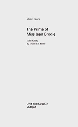 The Prime of Miss Jean Brodie (B2): Vokabelbeilage
