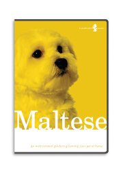 Maltese Dog Grooming Instructional How To DVD