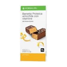 Herbalife barrette energetiche agrumi alle proteine - merenda - snack - spuntino - dimagrire