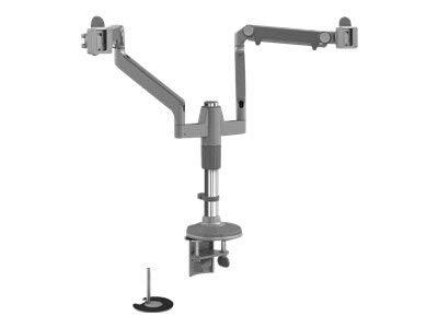 Humanscale M/Flex Doppeltes Monitor Arm mit Dual/Klemme Mount (Modell mf22s11d12) - Flex Arm Mount