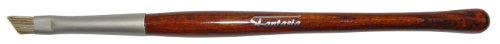 Fantasia - 17225 - Pinceau contour - Biseauté - Manche Revlona marron moiré - Bague serrage mate - 15,5 cm