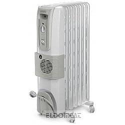 DeLonghi HOR KH770720V - Calefactor (220-230 V, 50 Hz, 350 mm, 350 x 150 x 630 mm, 150 mm) Color blanco