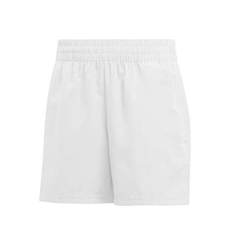 adidas Jungen Club Shorts, White/Black, 152