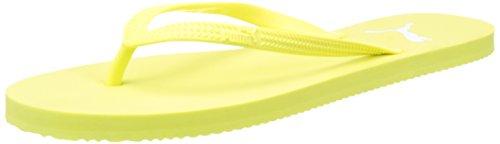Puma Damen First Flip Wns Zehentrenner, Gelb (Soft Fluo Yellow-Puma White 08), 42 EU