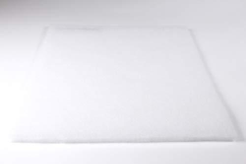 Vorfilter Filtervlies Staub G3 EU3 ca. 1 x 1 m - Dicke ca. 4-6 mm ca. 100g/m² Lüftung Klima Badlüfter Ventilator Lüfter Heizung Kompressor Gebläse Vliesmatte -