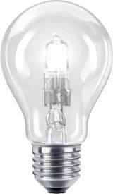 Philips 25171525 EcoClassic 30 E27 A60 Brilliantes Halogenlicht 40W in Glühlampenform, klar von Philips bei Lampenhans.de