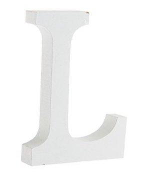 Cinziia Freistehende Dekoration, weiße Holz-Buchstaben, Alphabet, für Hochzeit / Zuhause,