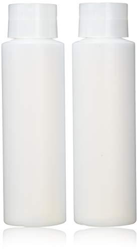 Earth\'s Essentials HDPE Squeeze Flaschen, wiederbefüllbar, 473 ml, mit Ständer auf der Kappe, ideal für Lotionen, Shampoos, Conditioner und Massageöle, 2 Stück