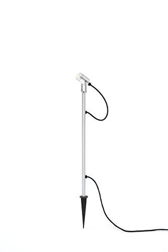 Gnosjö Konstsmide 7969-000 A Flut und Spotbeleuchtung, Aluminium, silber, 1 x 7 x 60 cm