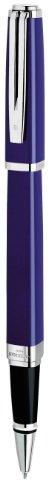 newell-rubbermaid-s0637150-stylo-roller-waterman-exception-slim-lack-trait-fin-encre-noire-bleu-impo