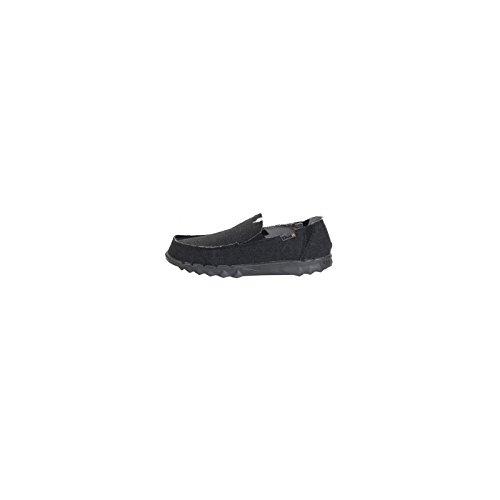 Hey Dude Shoes Herren Farty Klassisch Samtschwarz Ohne Bügel / Maultier - Schwarz, 12 UK