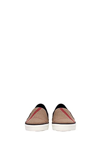 Burberry slip on donna nuove sneakers originali guaden beige Noir
