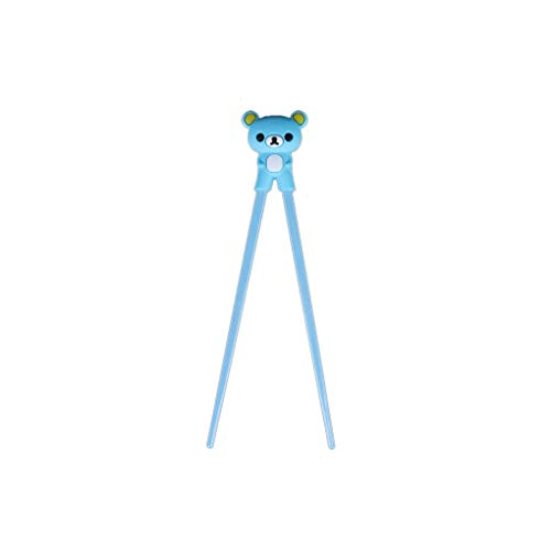 Providethebest il gel di silice cartoon orso top bacchette di apprendimento dei bambini formazione eatting strumento di assistenza