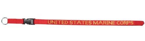 USMC Marine Corps Lanyard - Neck Strap Key Ring by Mitchell Proffitt -