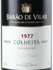 BARAO DE VILAR Colheita 1977, vendimia 1977. Vino de Porto. Vino calificado 90-94 /100 por los expertos