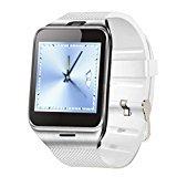 Bluetooth SmartWatch NFC Wasserdichte Telefon Uhr für Smartphones Android Samsung S3 / S4 / S5 / S6 / S6 Edge Hinweis 2 / Note 3 Note 4 HTC M8 / M9 Sony Weiß