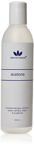 100% PURE ACETONE ARTIFICIAL NAIL REMOVER 250 ML***2 PCS DEAL*** by ETERNAL BEAUTY