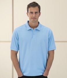 Jerzees Pique polo shirt-Camicia Unisex - Adulto Uomo    Classic Red XXXXL
