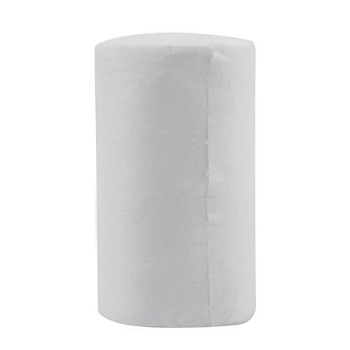 Baby spülbar biologisch abbaubar Einweg Tuch Windel Bambus Liner 100 Blatt für 1 Rolle 18cmx30cm