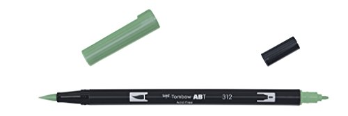 tombow-abt-312-fasermaler-dual-brush-pen-mit-zwei-spitzen-holly-green
