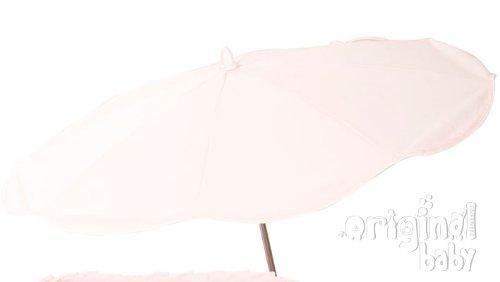 Sombrilla bebé pique Rosa + Flexo Universal