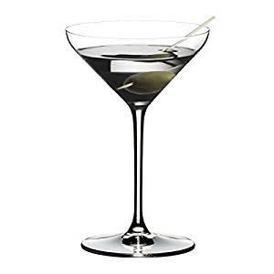 RIEDEL Extreme Martini Kauf 4 Zahl 3, Cocktailglas, Martiniglas, Apertitifglas, Hochwertiges Glas, 250 ml, 4411/17